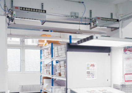 Ideal room climate for smooth printing processes